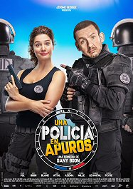 una-policia-en-apuros-cartel
