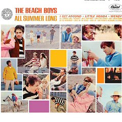 the beach boys all summer long album disco cover portada