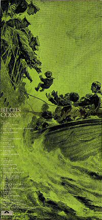 back cover odessa bee gees