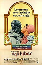 el abominable dr phibes cartel poster