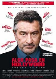 algo pasa en hollywood movie poster cartel pelicula review what just happened