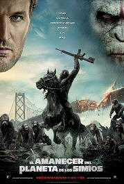 el amanecer del planeta de los simios dawn of the planet of the apes poster cartel pelicula
