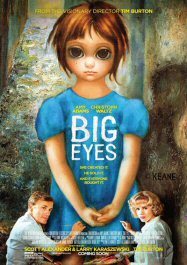 big eyes movie poster cartel critica de pelicula