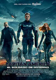 capitan america el soldado de invierno cartel movie poster