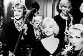 some like it hot marilyn monroe jack lemmon pictures