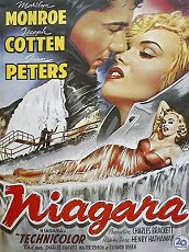 joseph cotten niagara movie poster cartel pelicula marilyn monroe