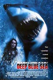 deep blue sea poster cartel critica