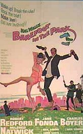 descalzos por el parque movie poster barefoot in the park
