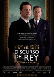 el discurso del rey cartel poster the kings speech