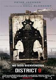 district 9 movie poster cartel pelicula review