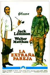 la extrana pareja movie poster cartel pelicula review the odd couple