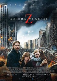 guerra mundial z world war movie review poster cartel pelicula