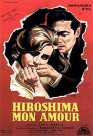 hiroshima mon amour cartel pelicula movie poster
