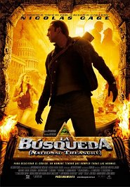 la busqueda national treasure movie review poster cartel