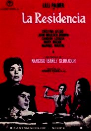 la residencia movie poster cartel pelicula review