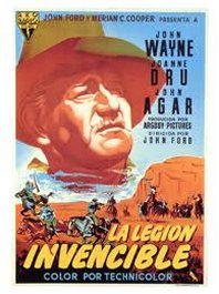 la legion invencible cartel pelicula movie poster she wore a yellow ribbon