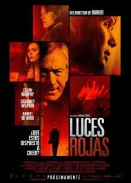 luces rojas cartel poster red lights