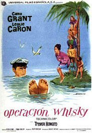 operacion whisky movie poster cartel pelicula cary grant