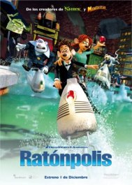 ratonpolis cartel poster flushed away movie review