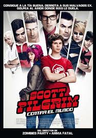 scott pilgrim contra el mundo movie poster critica review pelicula cartel