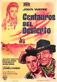 centauros del desierto the searchers movie poster cartel review