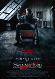 sweeney todd cartel poster pelicula critica movie