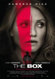 the box movie review poster cartel pelicula