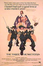 los tres mosqueteros the three musketeers cartel poster pelicula