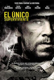 el único superviviente lone survivor cartel pelicula movie review poster