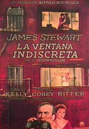 la ventana indiscreta rear window movie poster pelicula cartel