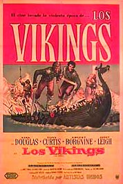 los vikingos the vikings movie poster pelicula cartel