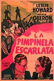 pimpineta escarlata cine poster the movie scarlet pimpernel movie cartel
