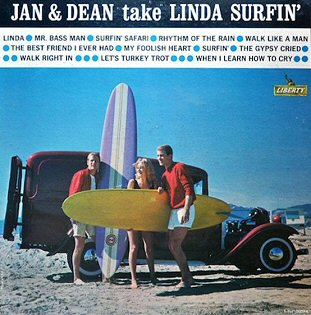 discos de jan and dean take linda surfin