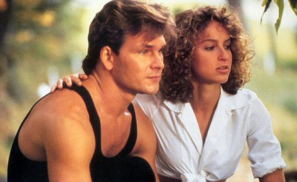 patrick-swayze-en-dirty-dancing