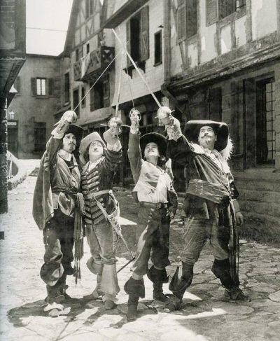 los-tres-mosqueteros-douglas-fairbanks