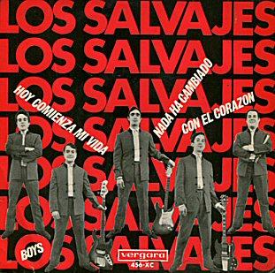 los-salvajes-eps-1964-beat