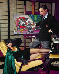 bob-kane-pin-up
