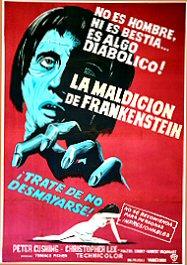 la-maldicion-de-frankenstein-cartel