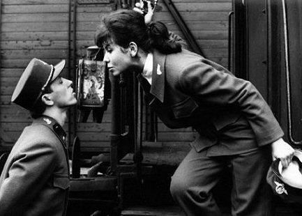 fotograma de trenes rigurosamente vigilados película