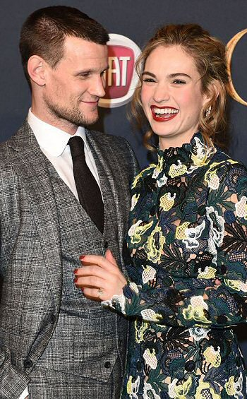 lily-james-matt-smith-foto