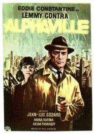 cartel de lemmy contra alphaville pelicula godard