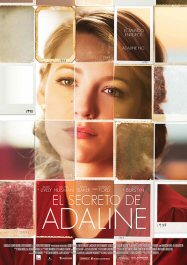 cartel pelicula el secreto de adaline