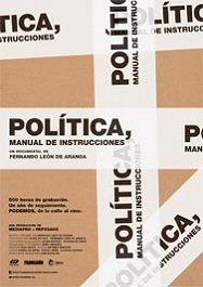 politica-manual-de-instrucciones-cartel