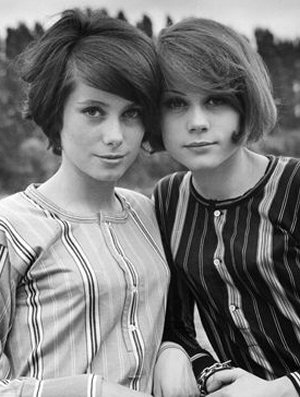 francois-dorleac-con-catherine-deneuve-hermanas