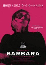 cartel español de película bárbara