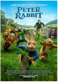 cartel de peter rabbit en estrenos