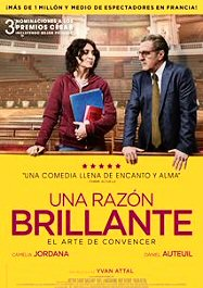 cartel español de una razón brillante