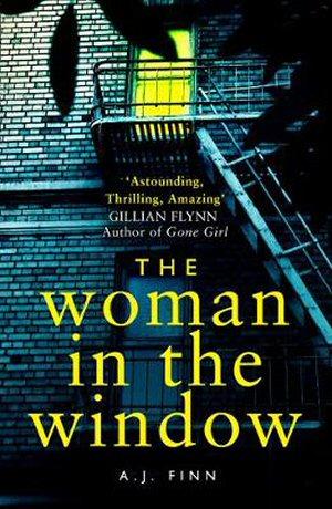 portada del libro the womanin the window de aj finn