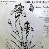 the beach boys back cover contraportada smiley smile