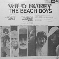 the beach boys wild honey album back cover contraportada disco